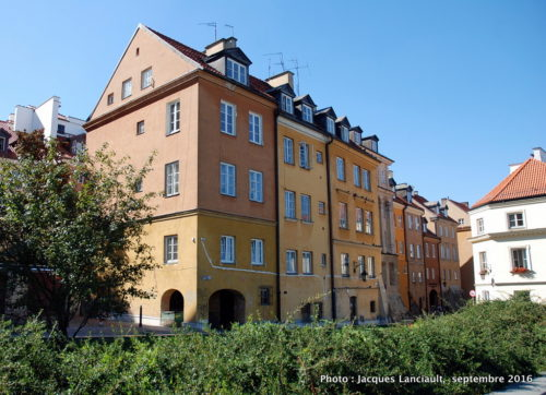 Vieille ville, Varsovie, Pologne