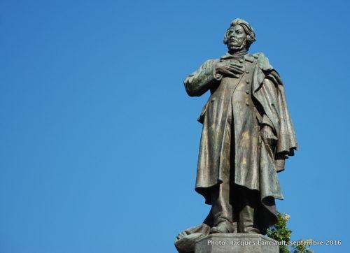 Monument à Adam Mickiewicz, Varsovie, Pologne