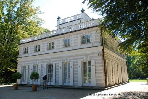 Maison blanche, parc Łazienki, Varsovie, Pologne