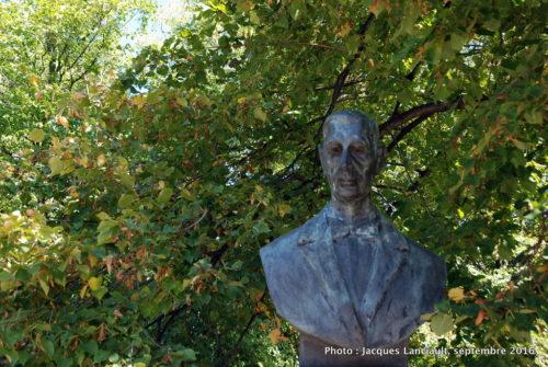 Eugeniusz Kwiatkowski, parc Łazienki, Varsovie, Pologne
