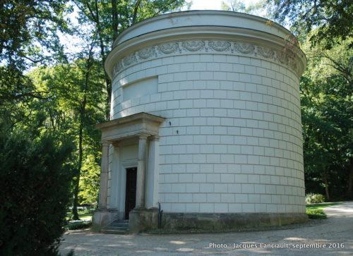 Pavillon Wodozbiór, parc Łazienki, Varsovie, Pologne