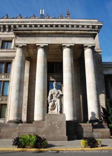 Palais de la culture et de la science, Varsovie, Pologne