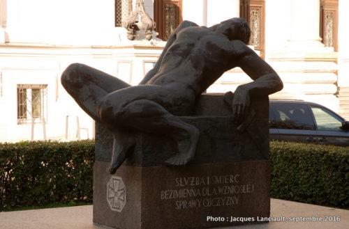 Monument aux héros polonais mort pour la liberté, Varsovie, Pologne