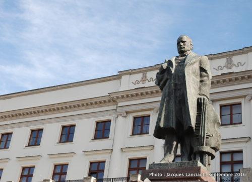 Monument Stanisław Moniuszko, Varsovie, Pologne