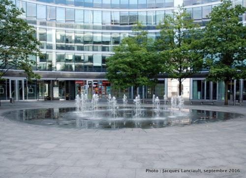Le «Metropolitain», Varsovie, Pologne