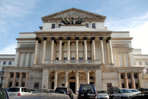 L'Opéra national et le Théâtre national de Pologne, Varsovie, Pologne