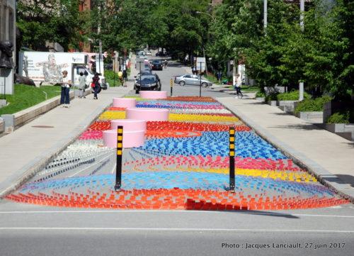 Installation avenue du Musée, MBAM, Montréal