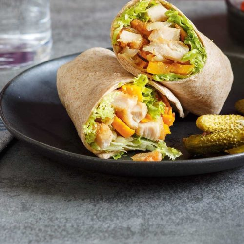 Roulé ou sandwich roulé... et non wrap