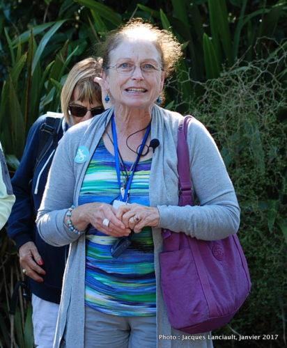 Linda, notre guide en Nouvelle-Zélande
