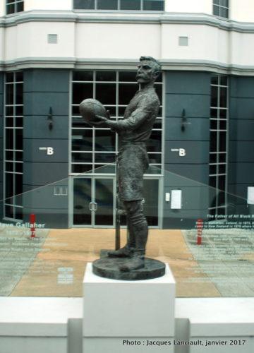 Statue de David Gallaher, Auckland, Nouvelle-Zélande