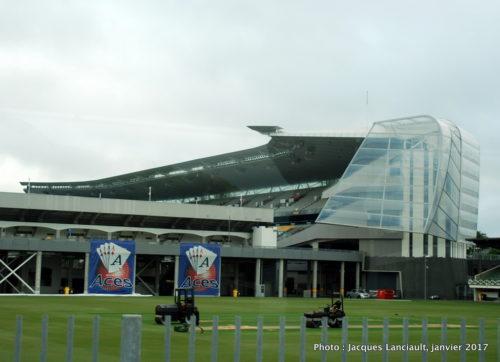 Stade de cricket, Auckland, Nouvelle-Zélande