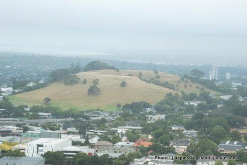 Vue du mont Éden, Auckland, Nouvelle-Zélande