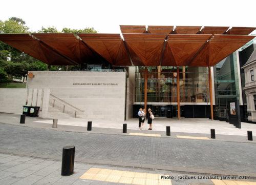 L'Auckland Art Gallery, Nouvelle-Zélande.