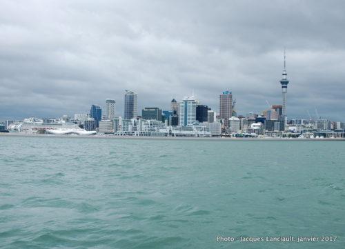 Auckland vue de la baie, Auckland, Nouvelle-Zélande