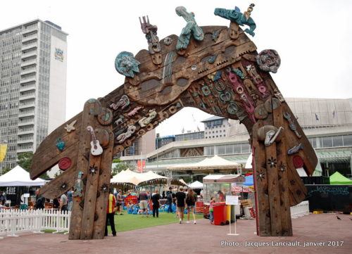 Aotea Square, Auckland, Nouvelle-Zélande