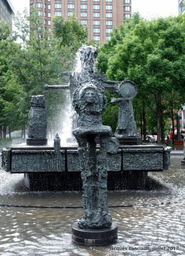 La Joute, quartier international, Montréal, Québec