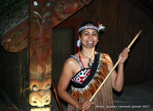 Māorie, village de Tamaki, Rotorua, Nouvelle-Zélande
