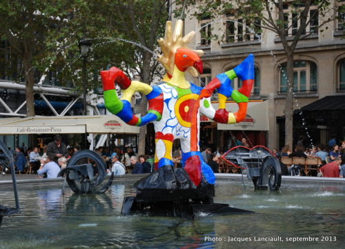 Fontaine Stravinsky, Paris, France