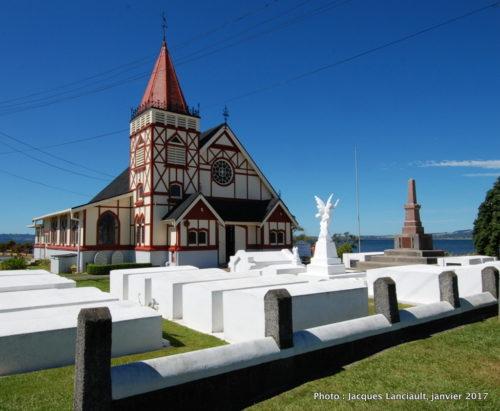 Ohinemutu, Rotorua, île du Nord, Nouvelle-Zélande