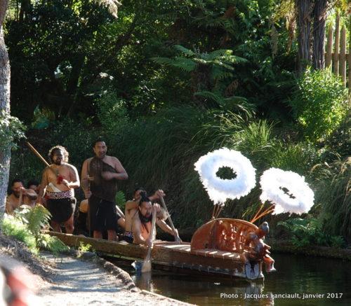 Village Tamaki, Rotorua, île du Nord, Nouvelle-Zélande