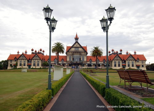 Musée de Rotorua, Rotorua, île du Nord, Nouvelle-Zélande