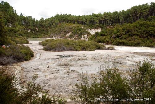 Réserve thermale de Wai-o-Tapu, île du Nord, Nouvelle-Zélande