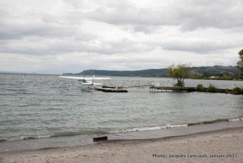 Lac Taupo, île du Nord, Nouvelle-Zélande