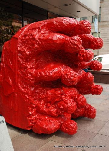 Naufrage, Michelangelo Pistoletto, Balade pour la Paix, Montréal, Québec