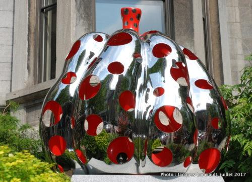 Pumpkins, Yayoi Kusama, Balade pour la Paix, Montréal, Québec