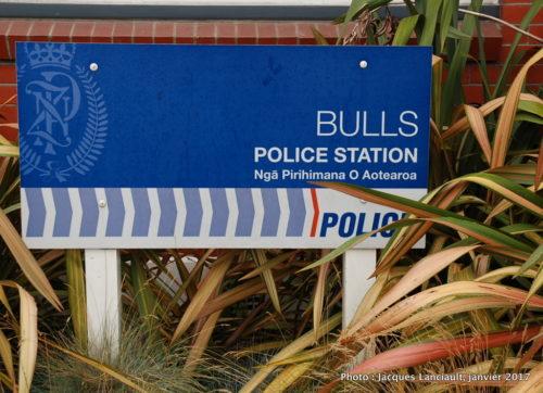 Bulls, île du Nord, Nouvelle-Zélande