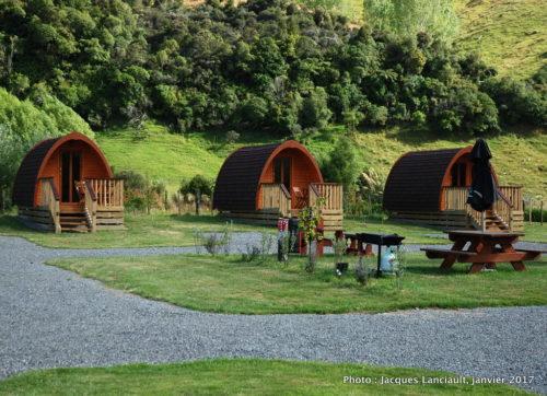 Flat Hills Café and Tourist Park, Ohingaiti, île du Nord, Nouvelle-Zélande