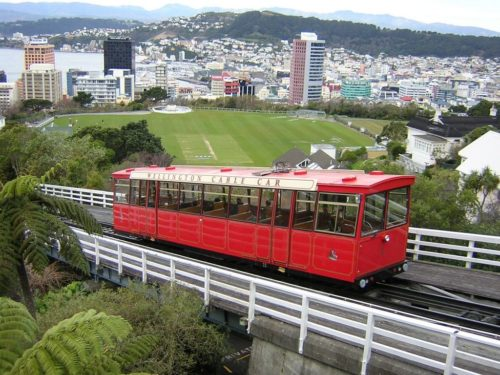Wellington Cable Car, Wellington, île du Nord, Nouvelle-Zélande
