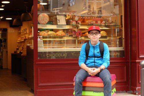 François Pralus, maître chocolatier, Paris, France