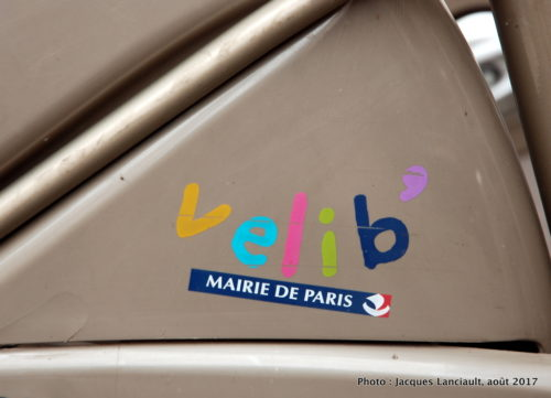 Velib, Paris, France