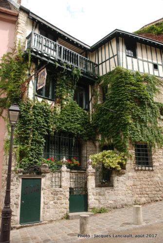 Butte Montmartre, Paris, France