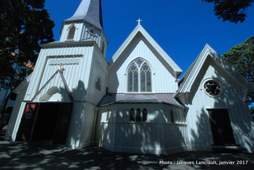 Ancienne cathédrale Saint-Paul, Wellington, île du Nord, Nouvelle-Zélande