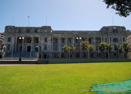 Parliament House, Wellington, île du Nord, Nouvelle-Zélande