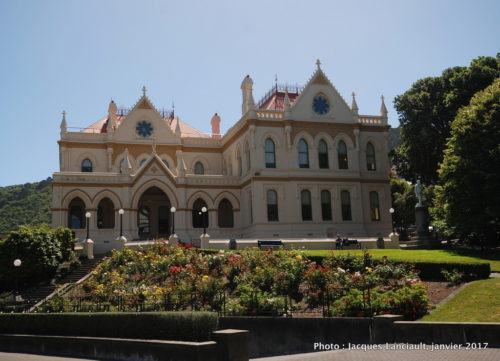 The Parliamentary Library, Wellington, île du Nord, Nouvelle-Zélande