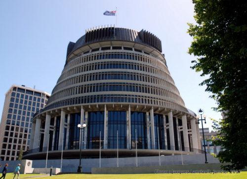 The Beehive, Wellington, île du Nord, Nouvelle-Zélande