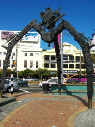 «Tripod», Wellington, île du Nord, Nouvelle-Zélande