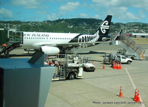 Aéroport de Wellington, Wellington, île du Nord, Nouvelle-Zélande