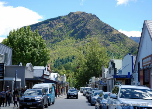 Rue principale, Arrowtown, île du Sud, Nouvelle-Zélande