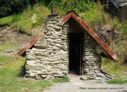 Camp des prospecteurs d'or chinois, Arrowtown, île du Sud, Nouvelle-Zélande