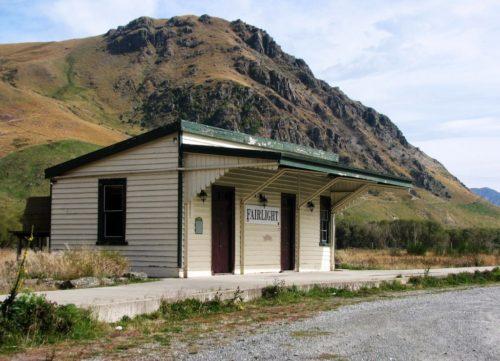 Gare de Fairlight, Route pour le parc national de Fjordland, île du Sud, Nouvelle-Zélande