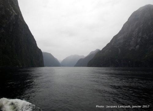 Milford Sound, île du Sud, Nouvelle-Zélande