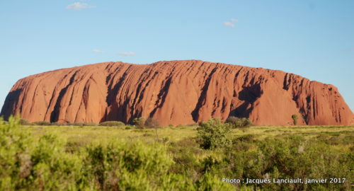 Mont Uluru, Uluru-Kata-Tjuta National Park, Australie