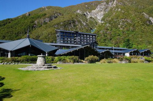 Hôtel l'Hermitage, île du Sud, Nouvelle-Zélande