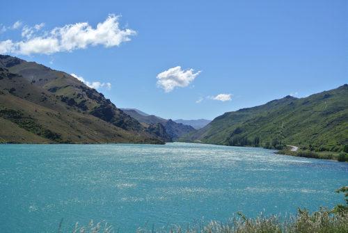 Lake Dunstan, Cromwell, île du Sud, Nouvelle-Zélande