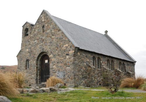 Église du bon pasteur, île du Sud, Nouvelle-Zélande