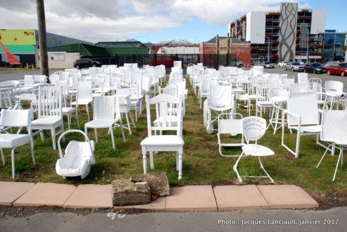 Mémorialaux 185 victimes du tremblement de terre du 22 février 2011, Christchurch, île du Sud, Nouvelle-Zélande
